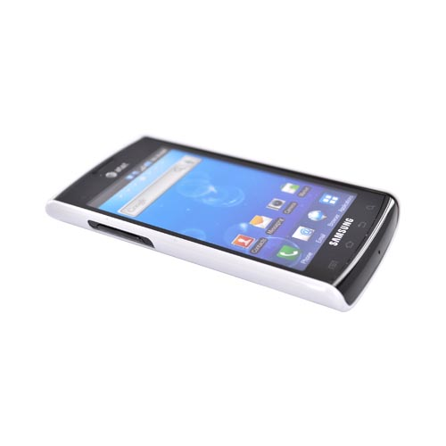 Samsung Captivate i897 Hard Back w/ Perforated Textured Back - White