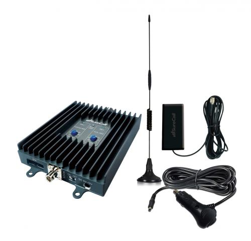 SureCall Flex2Go | 3G 50db Cell Phone Signal Booster Kit for Vehicles/ Small Boats/ RV - FCC Approved!