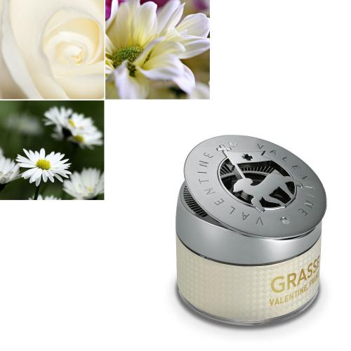 Premium Car Air Freshener, [White Musk] Bullsone Grasse Valentine - Natural Essential French Oil Scents!