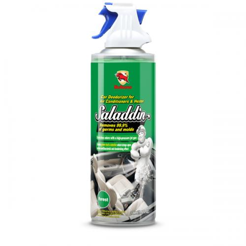 Bullsone Saladdin Car Deodorizer Spray For A/C System [Forest] - Kills 99.9% Germs and Bacteria!
