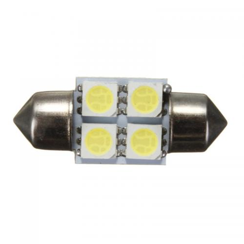 Festoon FS 36mm 4 SMD-5050 LED Light Lamp [Blue]