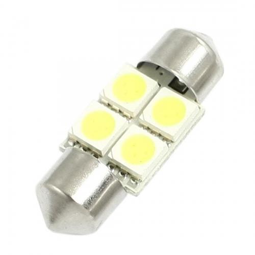 Festoon FS 36mm 4 SMD-5050 LED Light Lamp [White]