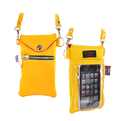 Original TurtleBack G-Mate iPhone/iPod Genuine Leather Carry Case - Golden Yellow