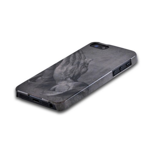 Geeks Designer Line (GDL) Apple iPhone 5/5S Albrecht Durer Slim Hard Back Cover - Praying Hands