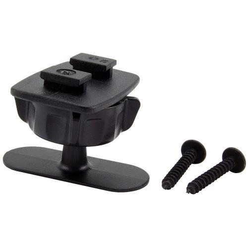 Arkon Black Mini 1/2 inch Tall Adhesive Dashboard / Console Mount with SBH Head