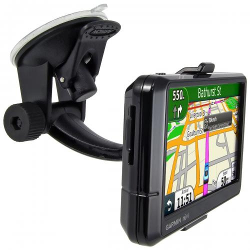 Arkon Black Garmin Nuvi Mount - Travel Mount with 17mm Ball Head