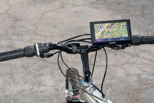 Arkon Black Bicycle Handlebar Mount for Garmin Nuvi