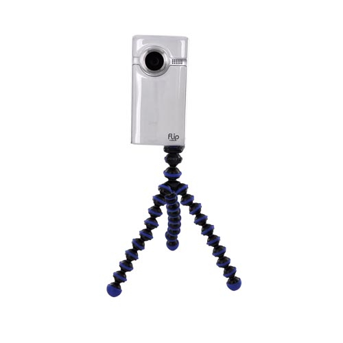 Original Joby Gorillapod Tripod w, Flexible Legs, GP1-ABEN - Blue, Black