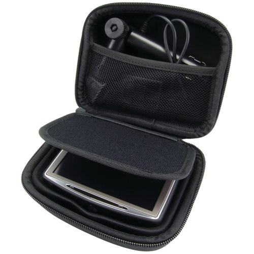 "Arkon Black GPS Hard Case for 5"" and 4.3 Portable GPS Navigation Devices"