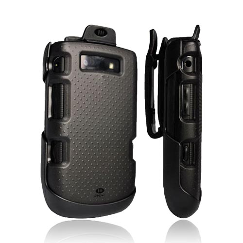 Original AGF Blackberry Torch 9800, 9810 GRT Endo Hard Case Holster Combo, HA0707-M005 - Black