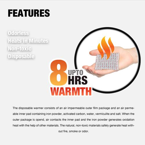 Owlheat [hand Warmer - 80 Pack / 160 Pieces] Disposable Self Heating Hand Warmers - Up To 640 Hours Of Total Warmth!