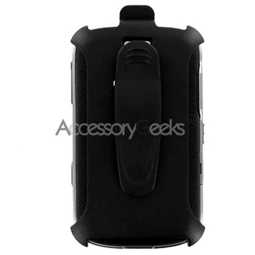 Blackberry Bold 9000 Holster w/ Swivel Belt Clip - Black