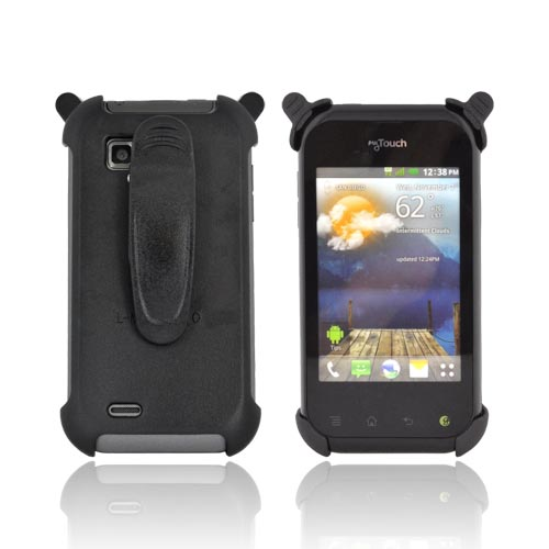 T-Mobile MyTouch Q Holster w/ Rotating Belt Clip - Black