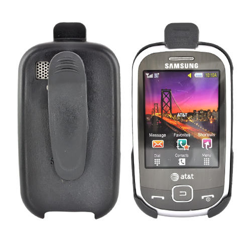 Samsung Flight A797 Holster w/ Swivel Belt Clip - Black