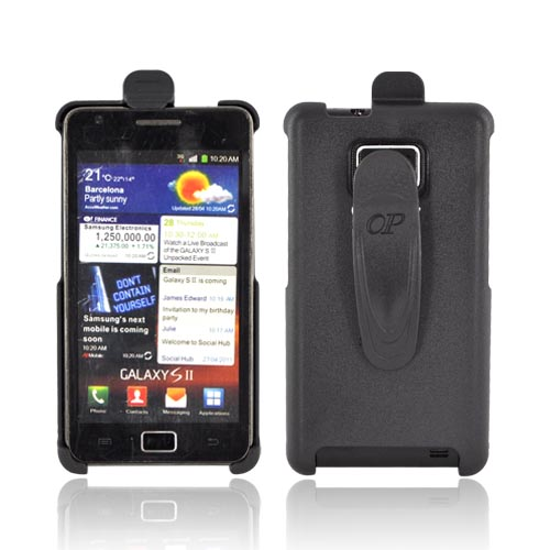 AT&T Samsung Galaxy S2 Holster w/ Swivel Belt Clip - Black