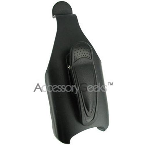 Blackberry 7100i Premium Black holster w/ belt clip