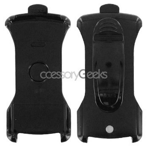 Premium Blackberry 8100 Pearl Holster w/ Swivel Belt Clip - Black