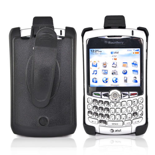 Premium Blackberry Curve 8330, 8320, 8310, 8300 Holster - Black