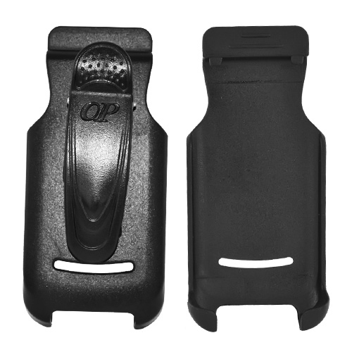 Premium Motorola i410 Holster w/ Swivel Belt Clip - Black