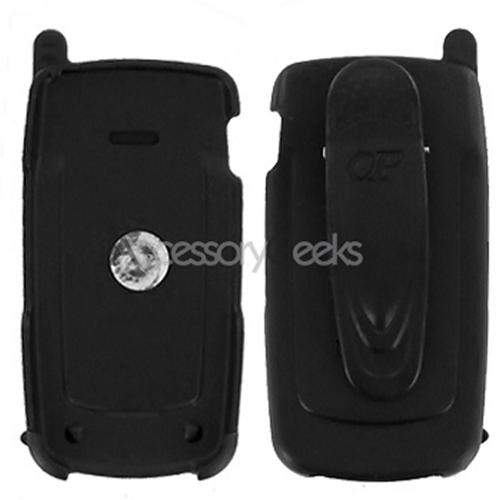 Samsung U550 Premium Holster w/ Swivel Belt Clip - Black