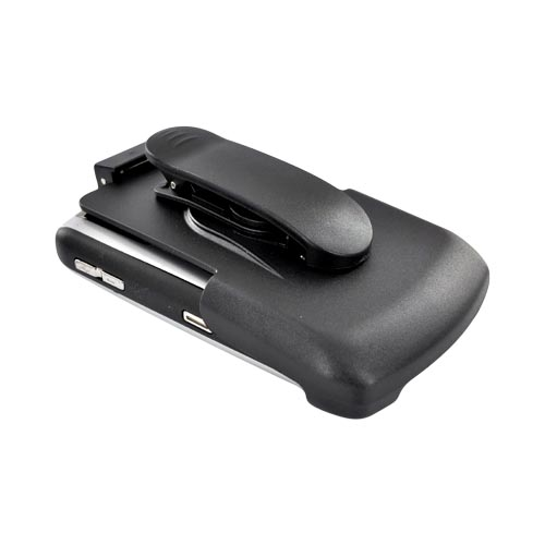 Premium Blackberry Curve 8330, 8320, 8310, 8300 Hard Holster w/ Swivel Clip - Black