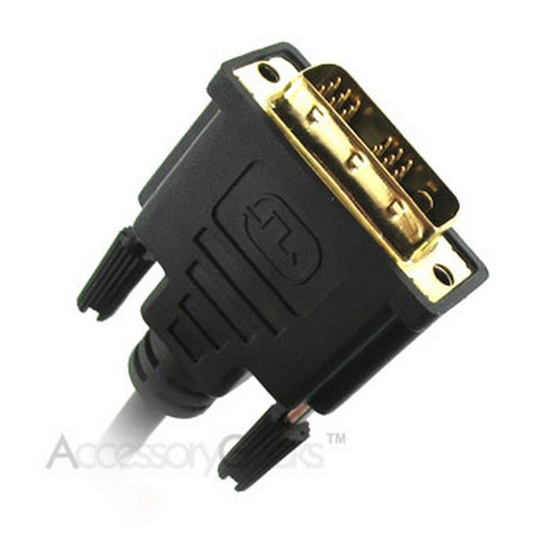 HDMI Male to DVI-D Male Cable 1080p 24K Gold Plated HDTV PS3 LCD Plasma Computer Blu-ray v1.3 - 15 feet