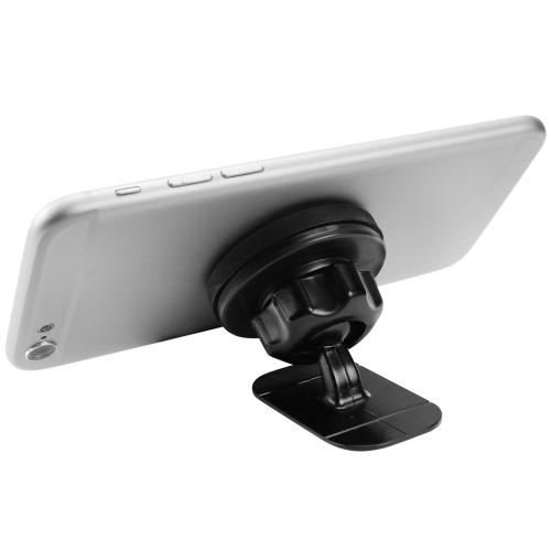 Black Magnetic Suction Car Mount/ Holder for Phones/ MP3 Players