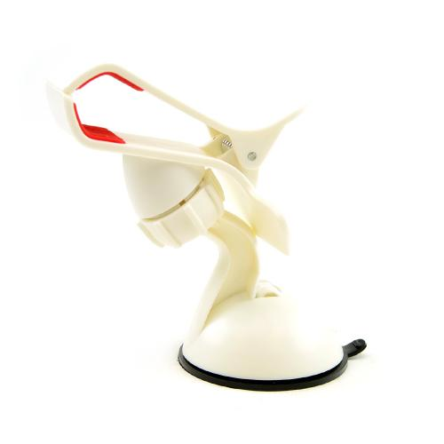 White/ Red Phone/ MP3 Suction Car Mount