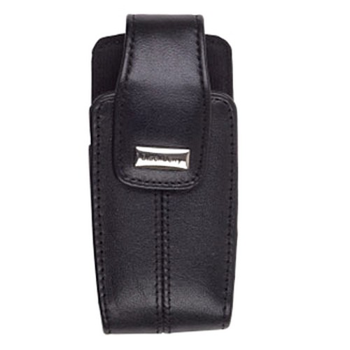 Original Blackberry Pearl 8100 Lambskin Leather Swivel holster w/ belt clip - black