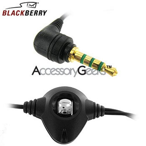 Original BlackBerry Stereo Headset (2.5mm) HDW-13019-001 - Black