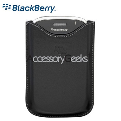Original Blackberry Bold Leather Pocket, HDW-19608-001 - Black