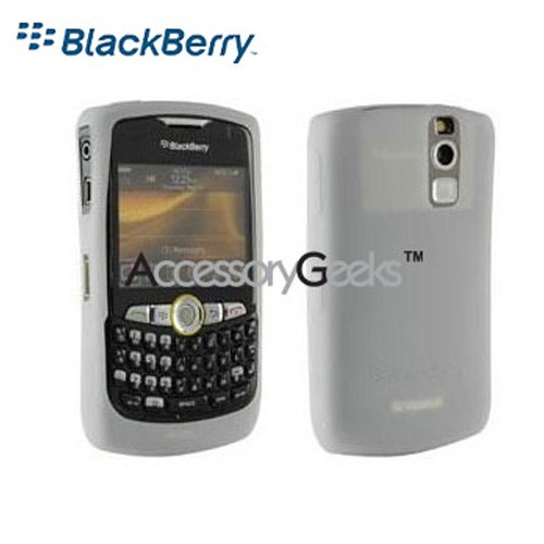Original Blackberry Curve 8350i Silicone Case - White