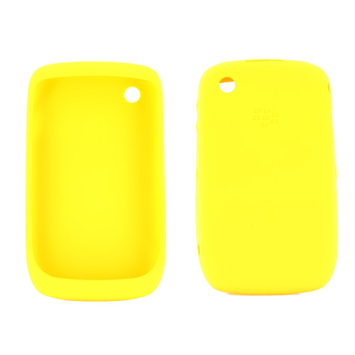 Original Blackberry Curve 3G 9330, 9300, 8520, 8530 Silicone Case - Yellow
