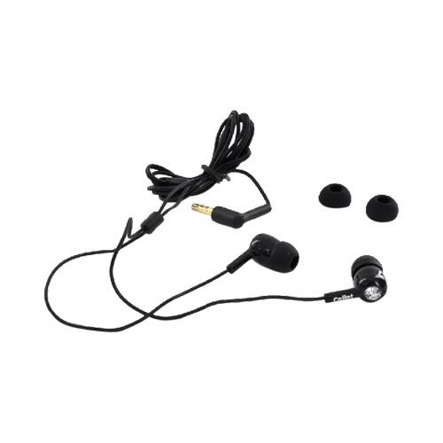 Cellet Universal Powerful Bass Stereo Earpiece w/ Diamond(3.5 mm) - Black