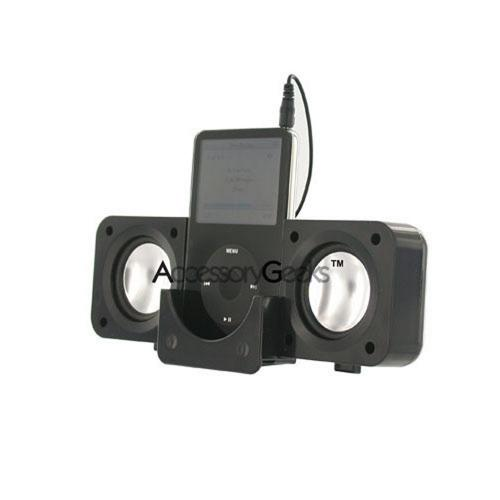 Apple iPod Fold Up Amplified Black Speakers