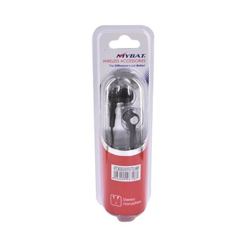 HTC Wing/Touch Headset w/ MIC - Black