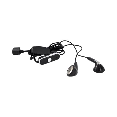 LG Xenon GR500 Headset micro USB w/ Answer Controls - Black/Silver