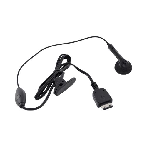 Samsung M300 Single Earbud Headset w/ Mic & Answer/ End Button - Black
