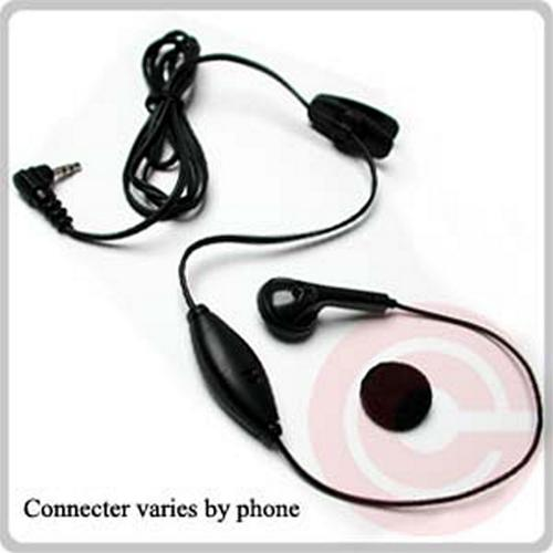 Universal Headset - Black (2.5mm)