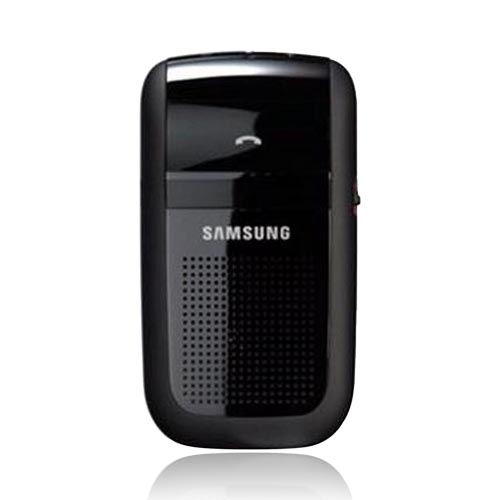 Original Samsung Hands-Free Bluetooth Handsfree Speaker Phone Car Kit, HF1000 - Black