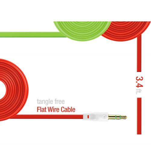 Universal 3.4ft Auxiliary Cable (3.5mm Male to 3.5mm Male) - Playful Purple