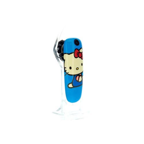 At&t/ Verizon Iphone 4, Iphone 4s Hello Kitty Combo Package W/ Hello Kitty Face W/ Red Bow Case & Earloomz Hello Kitty Portrait On Blue Bluetooth