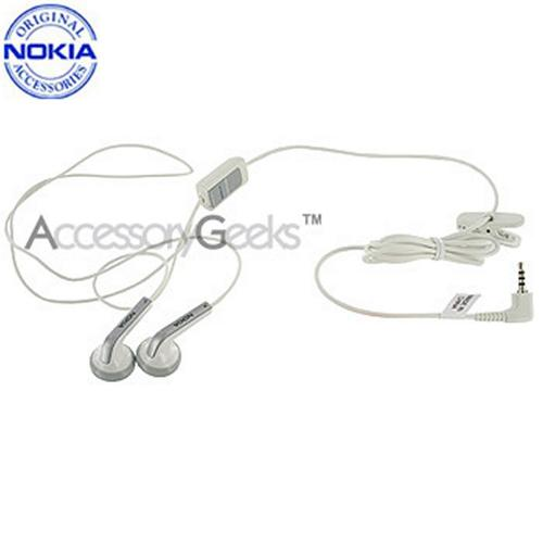 Original Nokia Stereo Headset HS-47 - White
