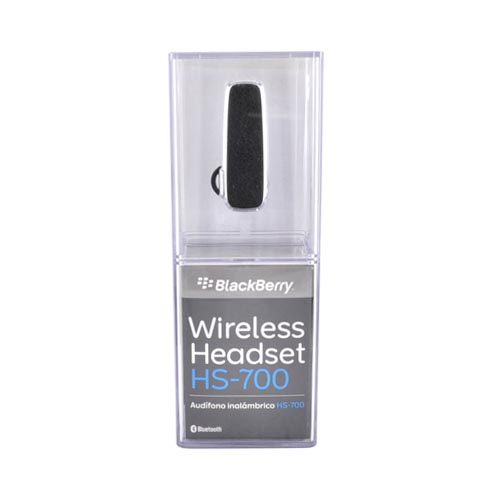 Original Blackberry HS-700 Universal Bluetooth Headset, HS-700 - Black