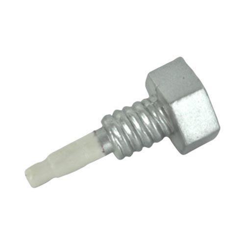 3.5mm Headphone Jack Stopple Charm - Silver Screw