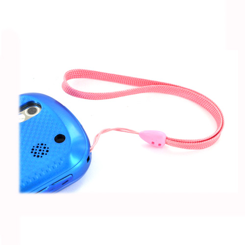 Universal Cell Phone Wrist Strap/ Lanyard (6 Inches) - Pink