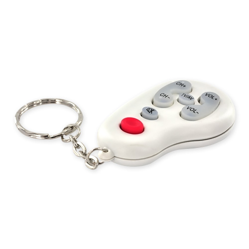 Mini Universal Prank Remote TV Controller Covert Clicker Pocket Keychain