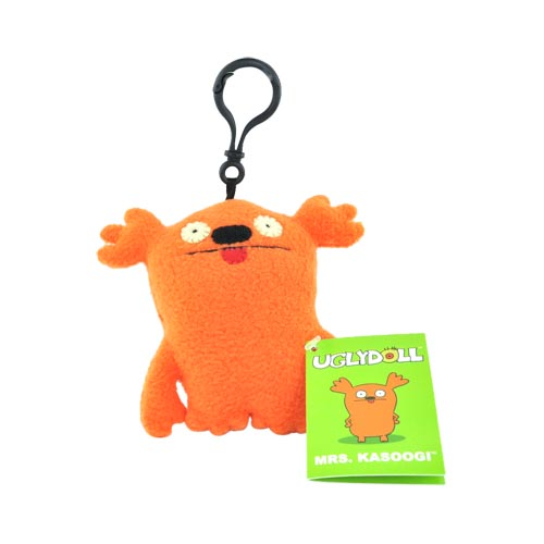 UGLYDOLL Plush Mrs. Kasoogi Clip On Charm Strap - Orange