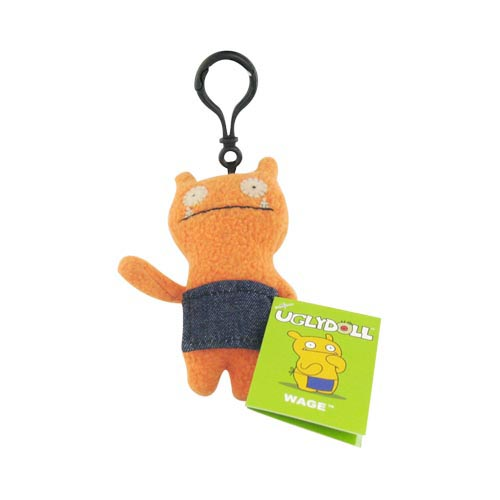 UGLYDOLL Plush Wage Clip On Charm Strap - Orange