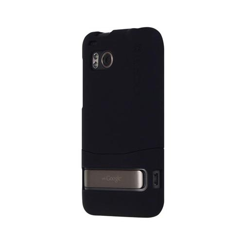 Original Incipio HTC Thunderbolt EDGE Rubberized Hard Case, HT-182, Black